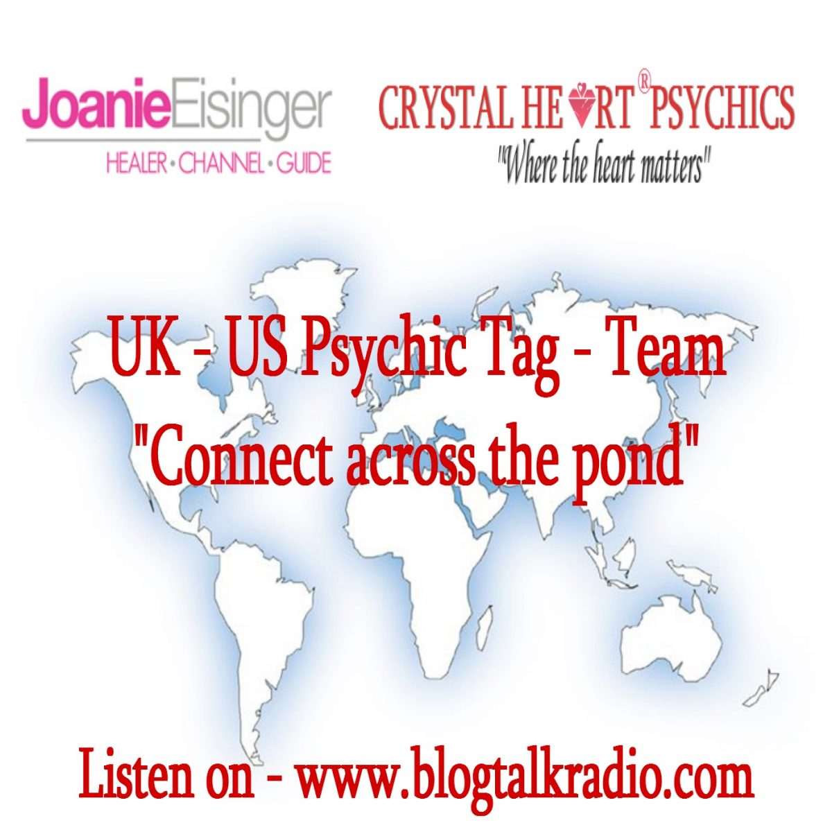 UK US Psychic tag team across the pond| Blog talk radio show
