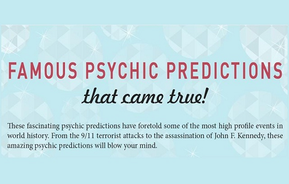 Infographic| Psychic predictions | Crystal Heart Psychics | Psychic readings where the heart matters