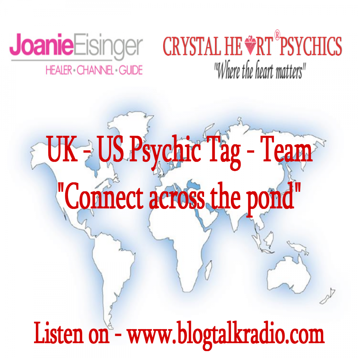 UK US Psychic tag team connect across the pond with Caroline of Crystal Heart Psychics