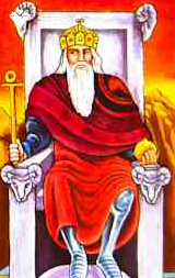 The Emperor | Tarot meaning | Crystal Heart's Psychic Readings | Where the heart matters