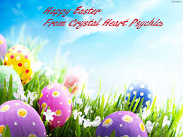 Happy Easter from Crystal Heart Psychics | Psychic readings where the heart matters