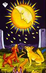 The Moon | Tarot meaning | Crystal Heart Psychics | Psychic readings Where The Heart Matters